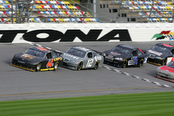 Dale Jarrett, Ryan Newman, Regan Smith