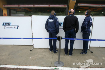 Williams F1 Team mechanics