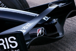 Williams F1 Team photoshoot: WilliamsF1 Team FW30 front wing detail