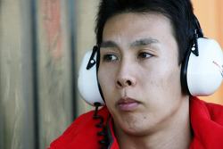 Takashi Kogure Test driver, Honda Racing F1 Team