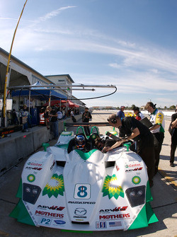 #8 B-K Motorsports Lola B07-46 Mazda: Jamie Bach, Ben Devlin
