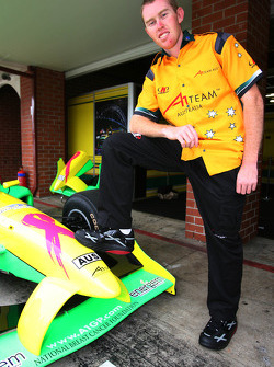 John Martin, driver of A1 Team Australia with BMT Trainers