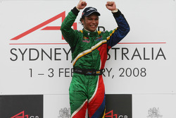 Winner, 1st, Adrian Zaugg, driver of A1 Team South Africa