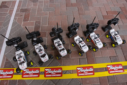 Raybestos Rookie of the Year radio-controlled car race event: the cars