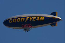The Good Year blimp over Daytona