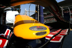 Red Bull Racing, RB4 front wing detail