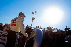 Victory lane: race winner Dale Earnhardt Jr.