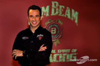 Jim Beam 1100 contest press conference: Helio Castroneves