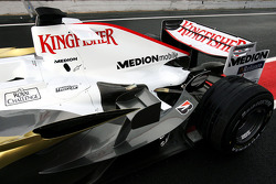 The Force India VJM01 track debut