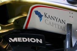 Sponsorship on the Force India F1 VJM01