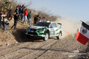 Gianluigi Galli and Giovanni Bernacchini, Stobart VK M-Sport Ford World Rally Team, Ford Focus RS WRC 2007