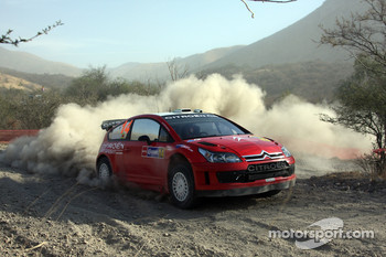 Conrad Rautenbach and David Senior, Citroen C4 WRC