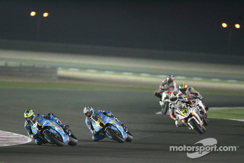 Chris Vermeulen and Loris Capirossi