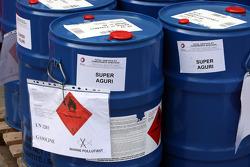 Fuel Tanks of Super Aguri