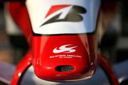 Super Aguri front wing detail