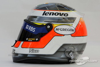 Nico Rosberg, WilliamsF1 Team, helmet