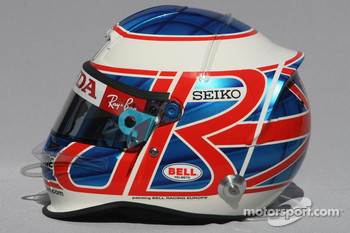 Jenson Button, Honda Racing F1 Team, helmet