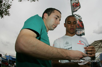 Nicolas Todt, Manager of Felipe Massa and Lewis Hamilton, McLaren Mercedes