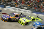 Jamie McMurray and Paul Menard in trouble