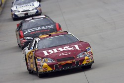 Clint Bowyer takes the red flag and wins