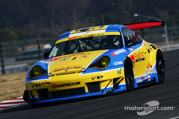 #27 Ishimatsu Ryuma Hankook GT3: Takashi Inoue, Hwang Jin-Woo