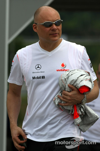 Matt Bishop Communications, McLaren Mercedes