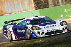 #7 Larbre Competition Saleen SR7: Vincent Vosse, Greg Franchi