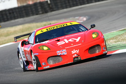 #55 CR Scuderia Ferrari 430 GT2: Chris Niarchos, Rob Bell