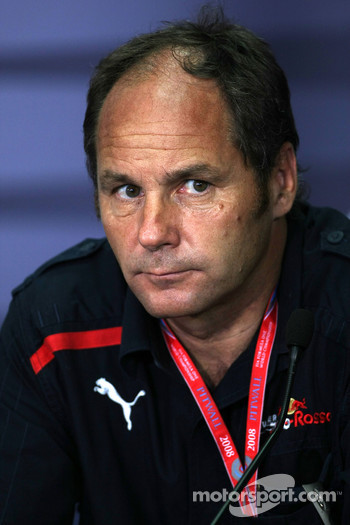FIA press conference: Gerhard Berger, Scuderia Toro Rosso, 50% Team Co Owner