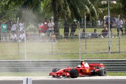 Felipe Massa, Scuderia Ferrari, F2008, retired