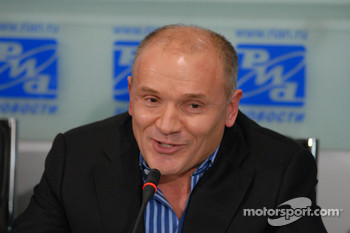 Alexander Nifontov, President of Russian Motocycle Federation
