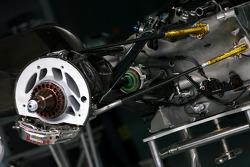 FW 30 gear box detail