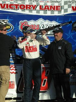 Dale Earnhardt Jr. tries out his new shotgun