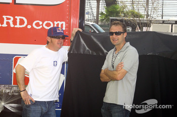 Buddy Rice and Townsend Bell