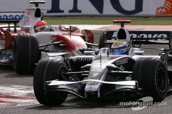 Nico Rosberg, Williams F1 Team, Timo Glock, Toyota F1 Team