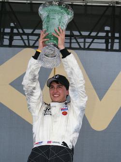 Race winner Graham Rahal