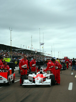 Car of Ryan Briscoe