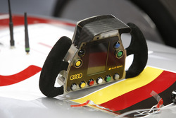 Audi Sport Team Joest Audi R10 TDI steering wheel