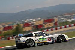 #72 Luc Alphand Aventures Corvette C6.R: Patrice Goueslard, Guillaume Moreau, Luc Alphand
