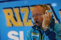 Rizla+ Suzuki pit box