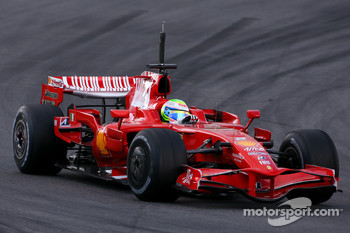 Felipe Massa, Scuderia Ferrari, on slicks