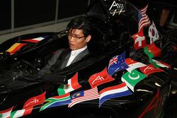 The new A1 Team Korea Seat Holder Joshua Kim