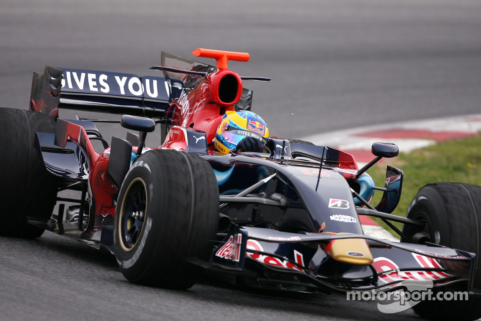 Sbastien Bourdais, Scuderia Toro Rosso, new STR03