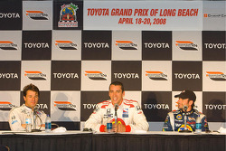 Top three qualifiers: Oriol Servia, Justin Wilson and Alex Tagliani