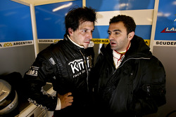 Esteban Tuero and Gaston Mazzacane
