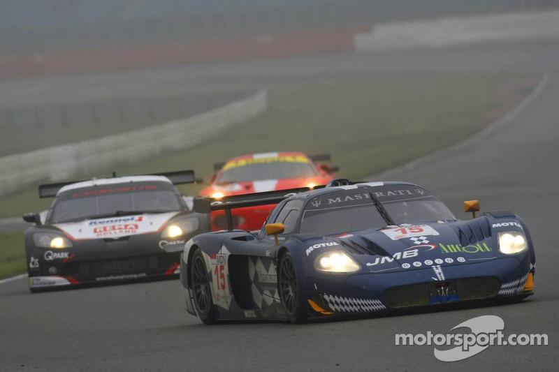#15 JMB Racing Maserati MC 12: Peter Kutemann, Ben Aucott