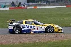 #6 Phoenix Carsport Racing Corvette C6R: Mike Hezemans, Fabrizio Gollin