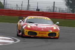 #78 BS Scuderia Italia Ferrari F430: Joel Camathias, Davide Rigon