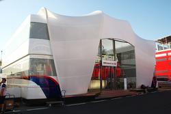 BMW Sauber F1 Team motorhome