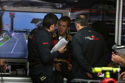 Sebastian Vettel, Scuderia Toro Rosso, Franz Tost, Scuderia Toro Rosso, Team Principal
